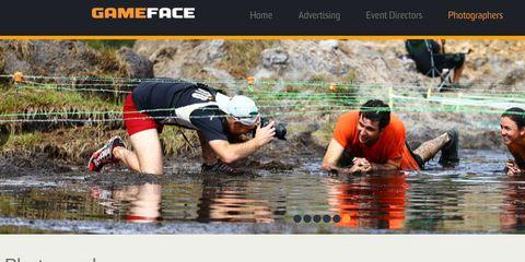 Gameface's website