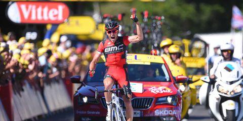 Belgian Van Avermaet wins stage 5