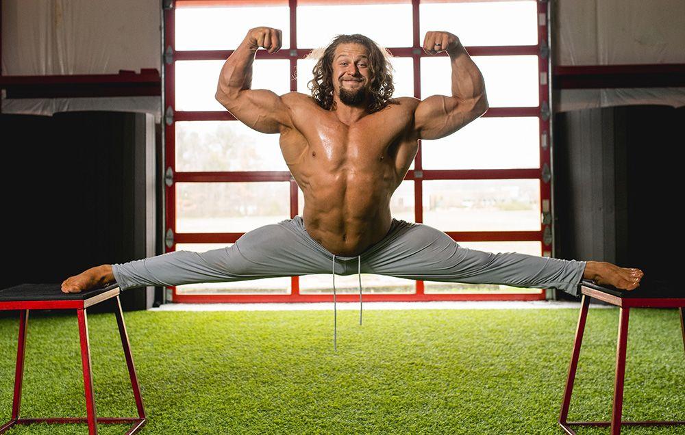 Why Jujimufu Is a Freak Of Fitness | Men's Health