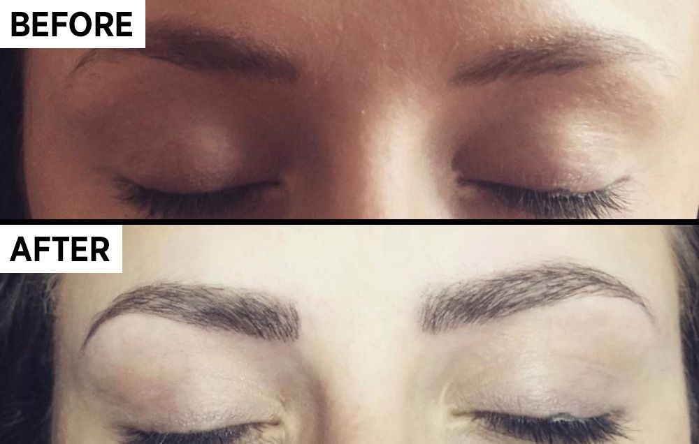 Should You Try Microblading For Fuller Brows Womens Health