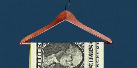 money hanger