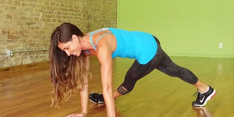 Tabata workout to rev metabolism