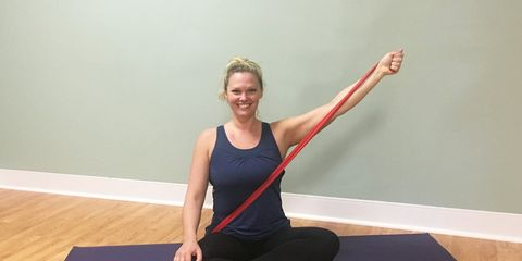 seated arm exercises