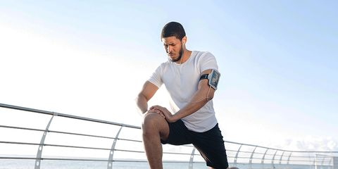 Strength training lunges