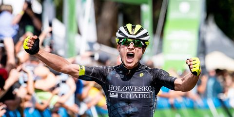 Robin Carpenter wins stage two of 2016 Tour of Utah