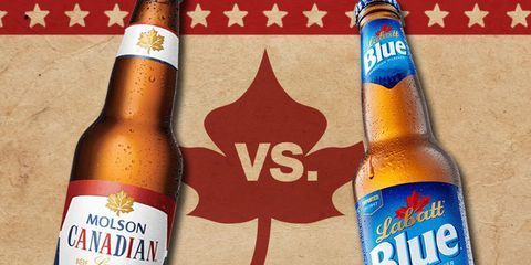 Molson Canadian vs. Labatt Blue