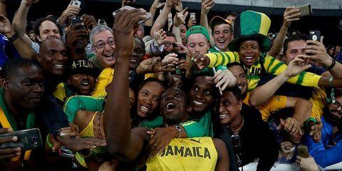 Usain Bolt at the 2016 Olympics