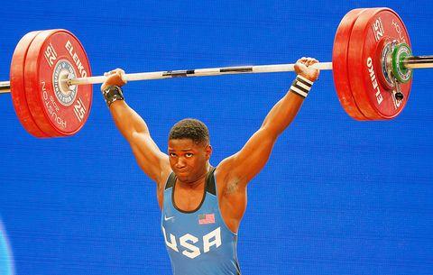 How CJ Cummings Broke 30 Weightlifting Records | Men's Health