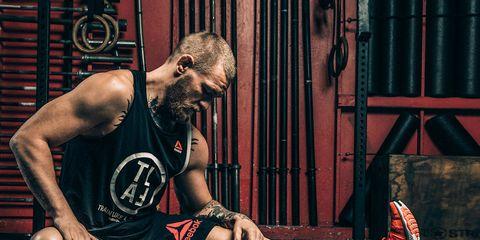 Conor McGregor training comeback