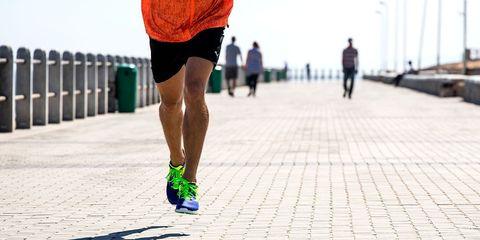 runner's feet