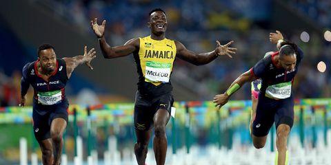 Omar McLeod in the 2016 Olympics