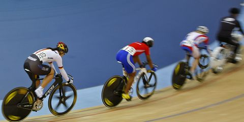 Olympic cyclists.