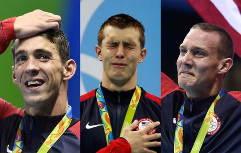 These Olympians Prove That Real Men Aren't Afraid to Cry