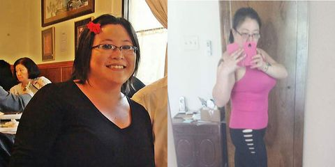 Nikki Azuma before and after weight loss