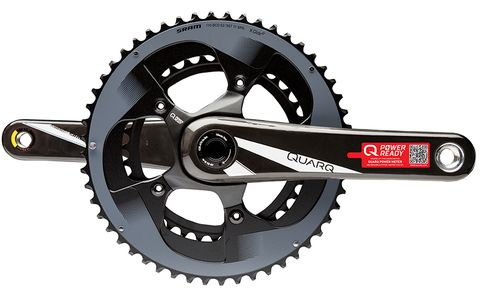 First Look: Quarq Prime Power Meter Ready Crank