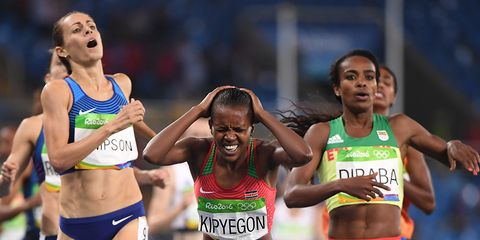 Jenny Simpson at the Rio Olympics