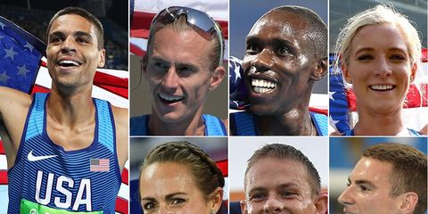 The U.S. distance runners who won medals at Rio