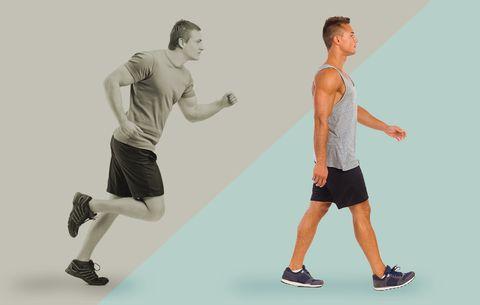 Kết quả hình ảnh cho walking vs running