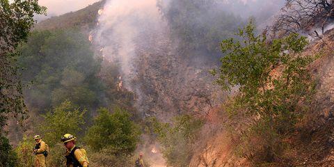 Monterey County wildfire