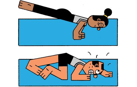 What Happens When a Guy in His 50s Tries Yoga