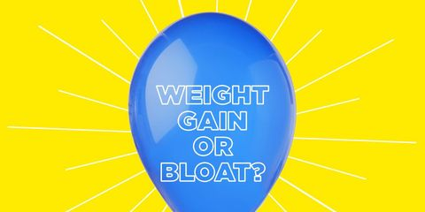 weight gain or bloat
