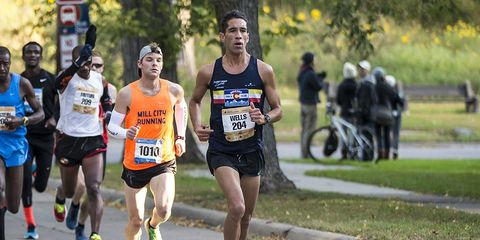 Chris Wells Twin City Marathon