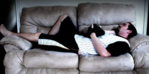 Couch potato.