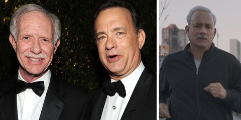 Chesley Sullenberger and Tom Hanks