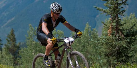 Lance Armstrong Power of Four mountain biking