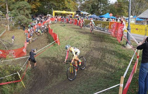 Cyclocross Tips: Off-Camber Corners