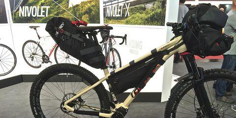 ghost bike packing bike