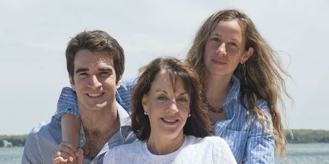 Anne Glauber and family