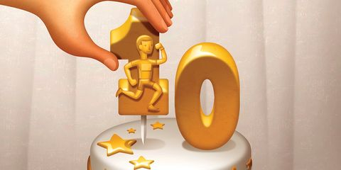 Runner Reborn cake