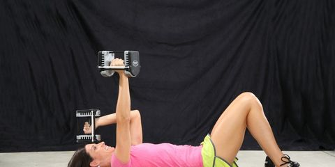 Triceps toning exercise