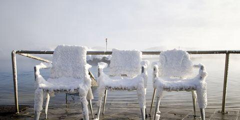 Ice chairs.