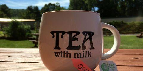tea without milk