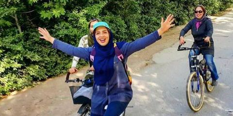 my stealthy freedom iran women bicycles