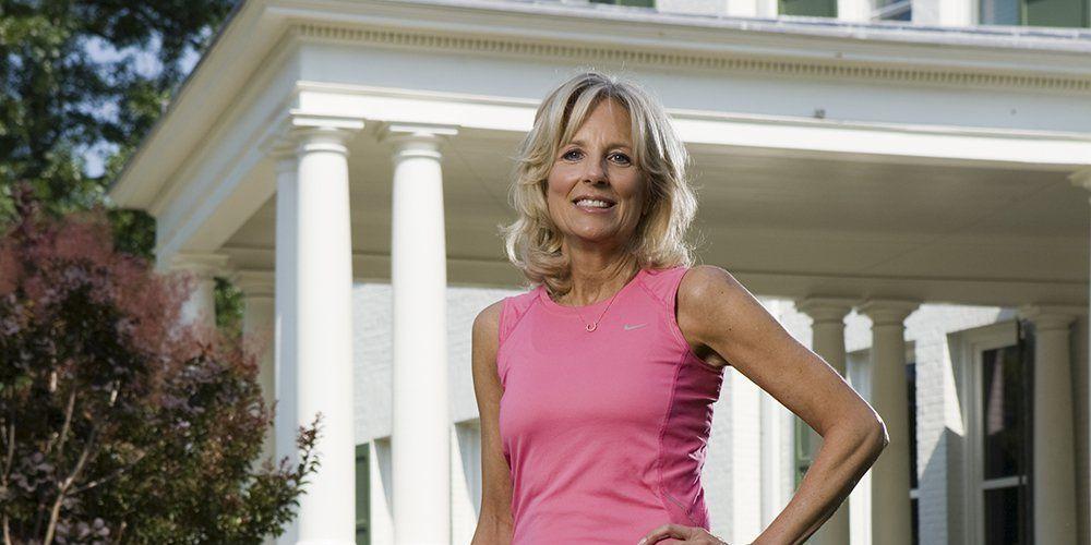 Dr Jill Biden On Running Interview With Runner S World