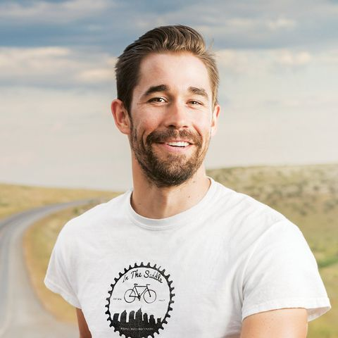 Meet the Forrest Gump of Sober Cycling