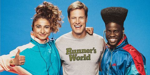 David Willey, Kevin Hart, and Alexis Pappas