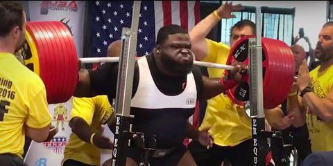 ray williams squats 1005 pounds
