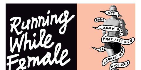 Running while female image
