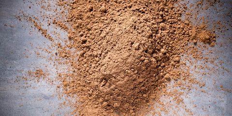 snorting cocoa powder