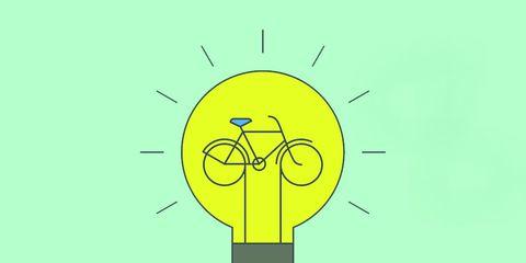 bicycle lightbulb idea