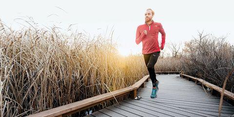 formula for success man running