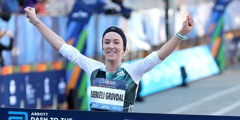 Karoline Bjerkeli Grovdal of Norway