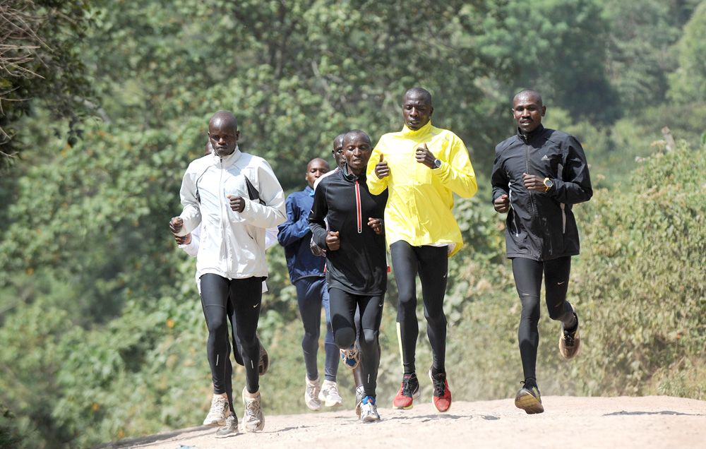 Kenyans, Cadence, and Ground Contact Time