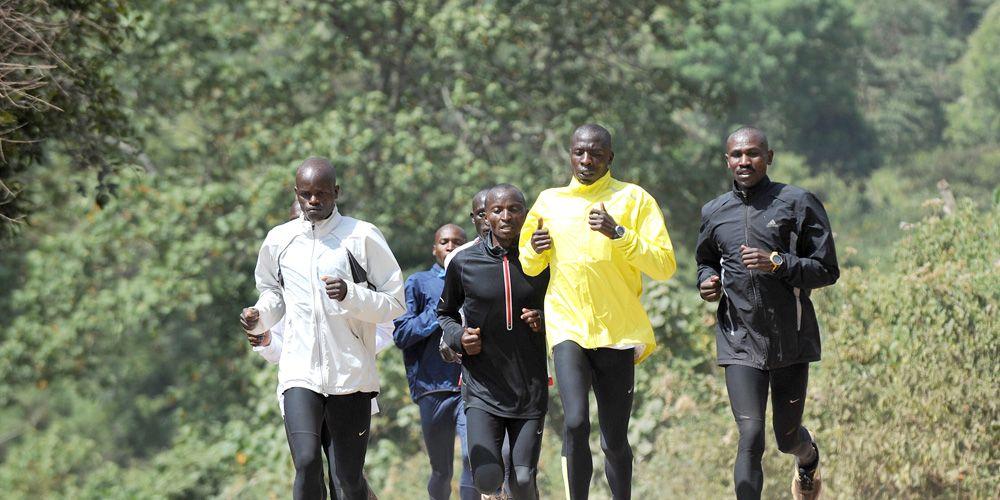 Kenyan group training
