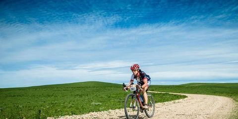 Selene Yeager at the Dirty Kanza 200