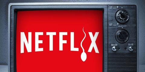 sperm health and TV